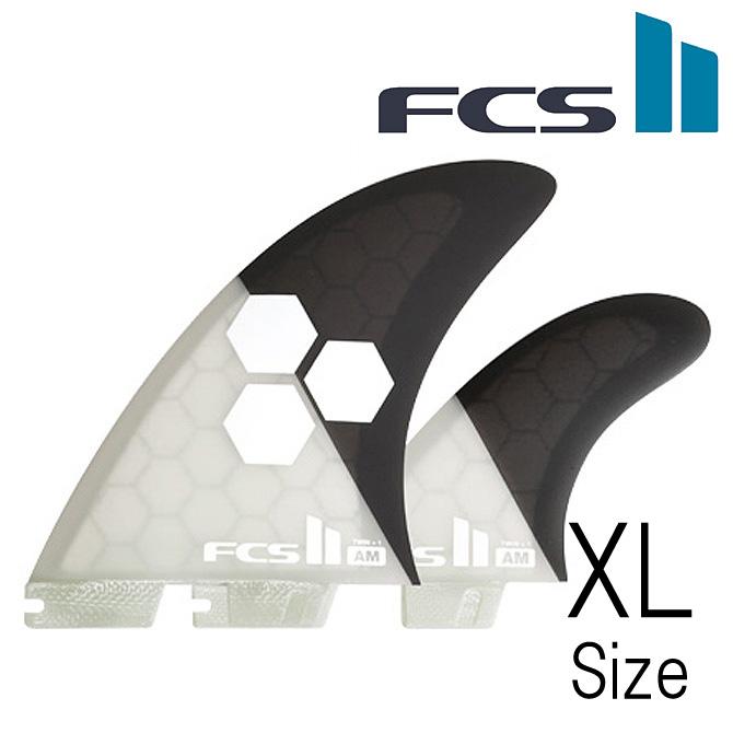 FCS2 AMFin Almerrick PerformanceCore Twin+1 Model XLargeSize / アルメリック パフォーマンスコア ツイン+1 モデル サーフボード フィン エクストララージサイズ 【返品・交換不可】