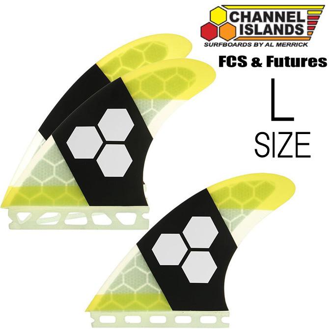 ChannelIslands Tech1 HexCoreModel LargeSize / チャンネルアイランド テック1 ハニカムコアモデル サーフボード フィン ラージサイズ 【返品・交換不可】