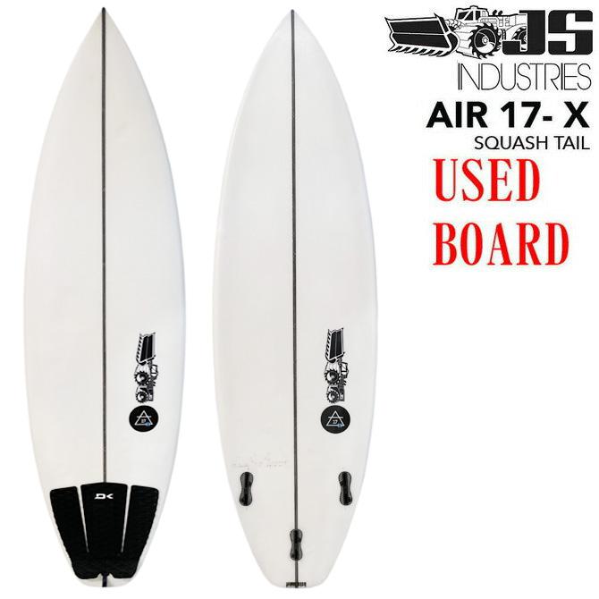 【中古】JSサーフボード エア17X ジュリアン ウイルソン モデル 5'7