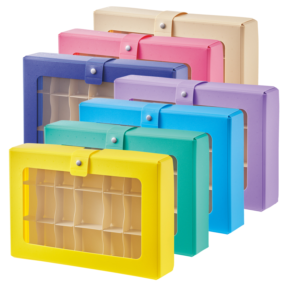 マスキンギテープなど 買い物 特売 小物の収納にぴったりな仕切り付きケース CUBEFIZZ コレクションケース