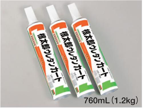 根太郎ウレタンカート UC-760 10ケース(12本入り×10ケース) 床用接着剤 コーワ 健康住宅対応品 床暖房対応品 1液型ウレタン樹脂系接着剤 送料無料