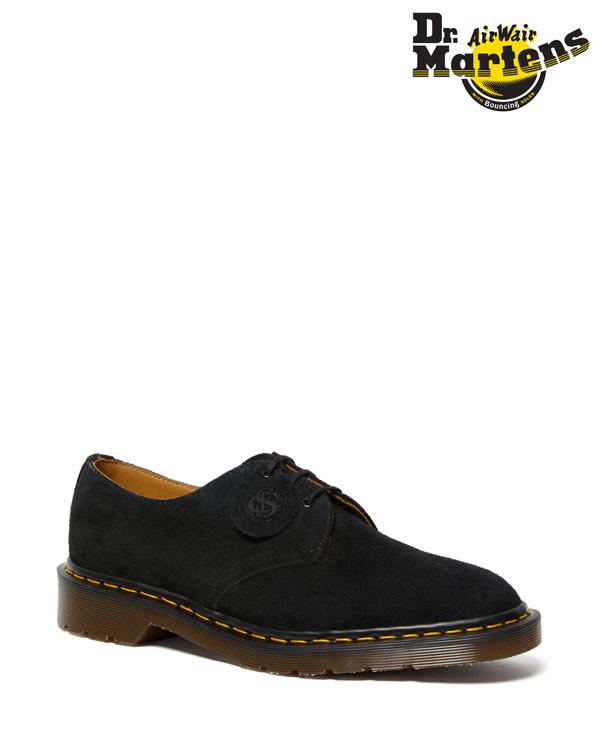 Dr.Martens Made in England 1461 Desert Oasis Suede 3 Eye Shoe 26074001 Black ドクターマーチン 1461 英国製 3ホール シューズ メンズ レディース スエード