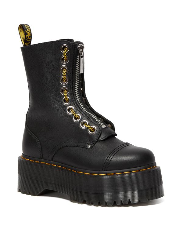 Dr.Martens Quad Retro Max Sinclair Hi Max Jungle Boot 26088001 Black Pisa ドクターマーチン シンクレア ハイ マックス ジャングルブーツ 厚底 レディース