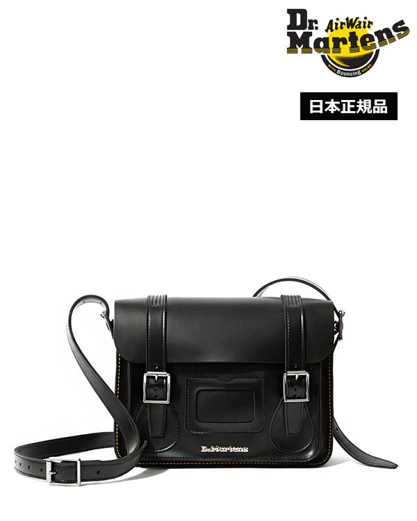 Satchel 11インチ Leather レザー Dr.Martens 11inch サッチェル AB097001 ドクターマーチン Bag バッグ Black