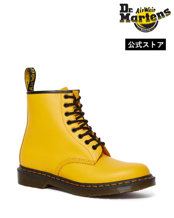 Dr.Martens Icons 1460 8 Eye Boot 24614700 Yellow Smooth ドクターマーチン 1460 8ホール ブーツ イエローステッチ メンズ レディース