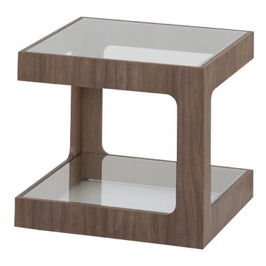 【お取り寄せ】AZUMAYA(東谷) ラウル ガラスサイドテーブル | JST-447