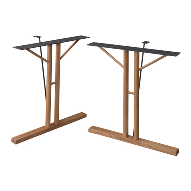 本店 お取り寄せ AZUMAYA ついに入荷 東谷 ダイニングテーブル脚 JPT-254OAK 2脚組 オーク