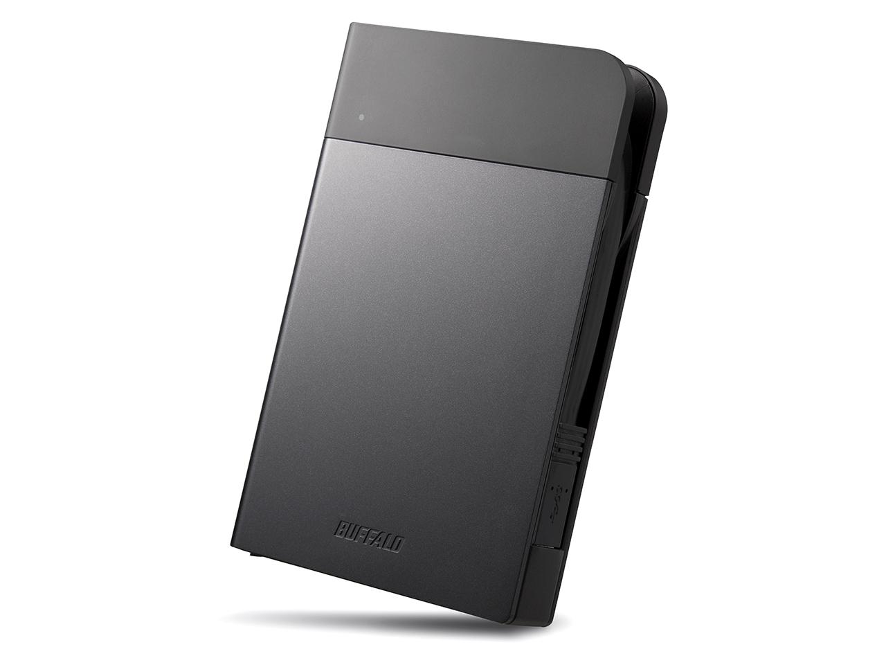 【お取り寄せ】Buffalo(バッファロー)ICカード対応MILスペック耐衝撃ボディー防雨防塵ポータブルHDD2TB(ブラック)|HD-PZN2.0U3-B(4981254027295)
