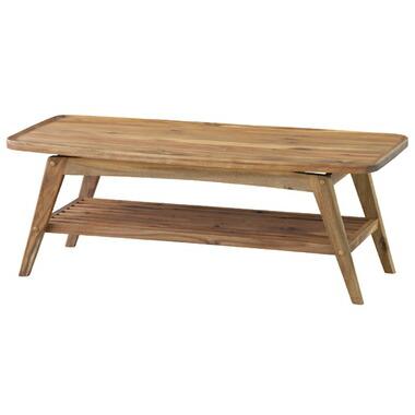 【お取り寄せ】AZUMAYA(東谷) 北欧風のかわいいテーブル ヴァルト コーヒーテーブル|NET-615