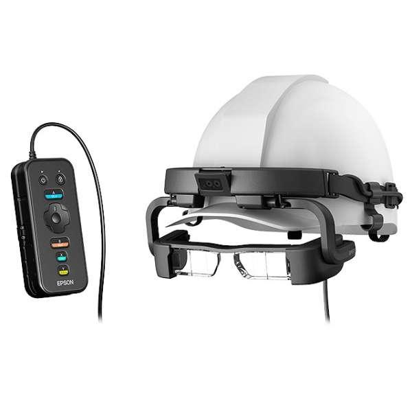【お取り寄せ】エプソン(EPSON)スマートヘッドセット MOVERIO Pro BT-2200 業務用ヘルメットモデル |BT-2200