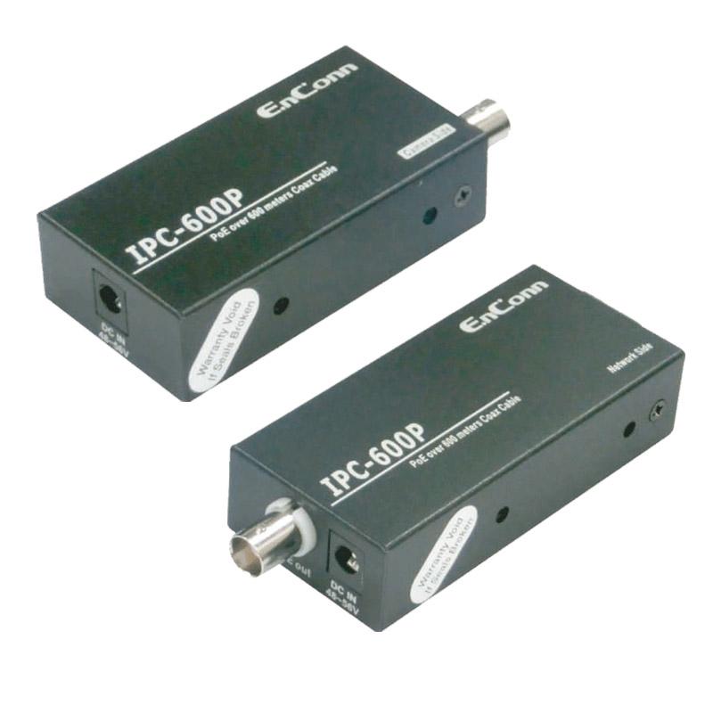 【お取り寄せ】JOBLE(ジョブル)IPカメラ同軸ケーブル長距離電装機器「送受信セット」|IPC-600P