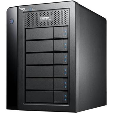 【お取り寄せ】Promise Pegasus2 R6 24TB(4TBx6)モデル Thunderbolt対応ストレージ |F40SR6R00000003