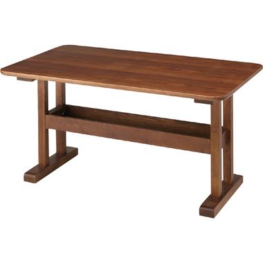 【お取り寄せ 】AZUMAYA(東谷) トランダイニングテーブル ブラウン|HOT-456BR