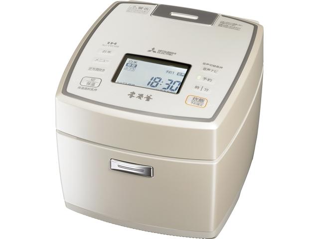 【お取り寄せ】三菱電機(Mitsubishi Electric)IHジャー炊飯器(5.5合炊き) 白和三盆|NJ-VW109-W