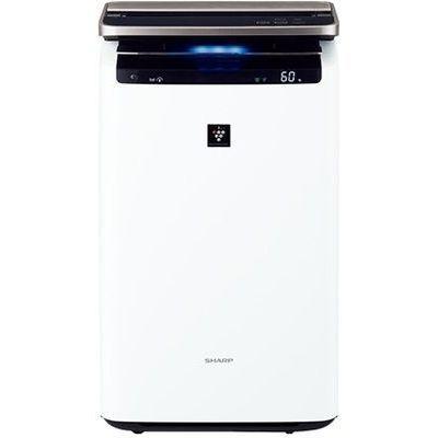 【お取り寄せ】シャープ(Sharp)プラズマクラスターNEXT搭載 加湿空気清浄機(空清46畳まで/加湿26畳まで)ホワイト|KI-JP100-W