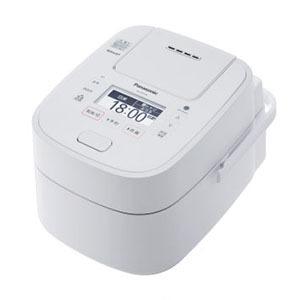 【お取り寄せ】パナソニック(Panasonic)可変圧力スチームIH炊飯ジャー 「Wおどり炊き」(1升) ホワイト|SR-VSX188-W