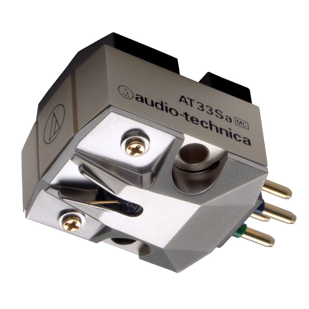 【お取り寄せ】オーディオテクニカ(audio-technica)MC型(デュアルムービングコイル)ステレオカートリッジ|AT-33SA