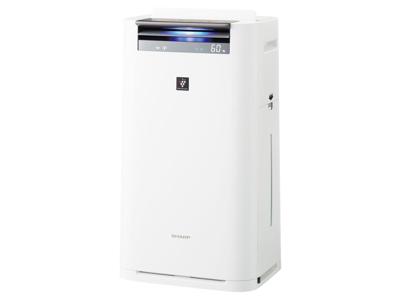 【お取り寄せ】シャープ(Sharp)プラズマクラスター25000搭載 加湿空気清浄機(空清31畳まで/加湿18畳まで)ホワイト KI-JS70-W