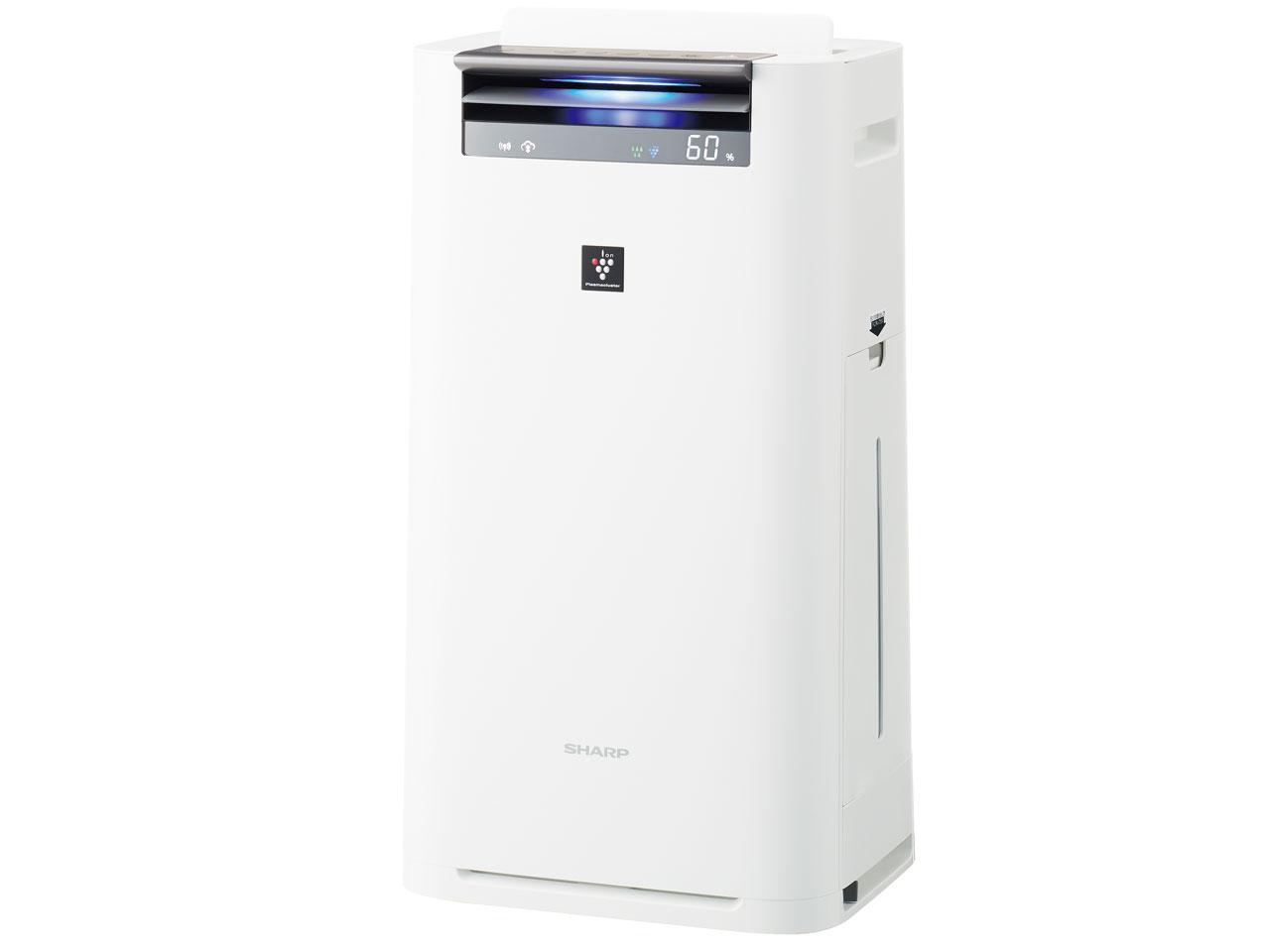 【お取り寄せ】シャープ(Sharp)プラズマクラスター25000搭載 加湿空気清浄機(空清23畳まで/加湿15畳まで) ホワイト|KI-JS50-W