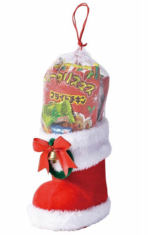 クリスマスブーツ 36個セット @658/個  イベント 記念品 ギフト 景品 コンペ 雑貨 贈答 粗品タオル ノベルティ バラマキ 販促品 プレゼント 防災 特価 名入 のし 包装 最安 の当店へ