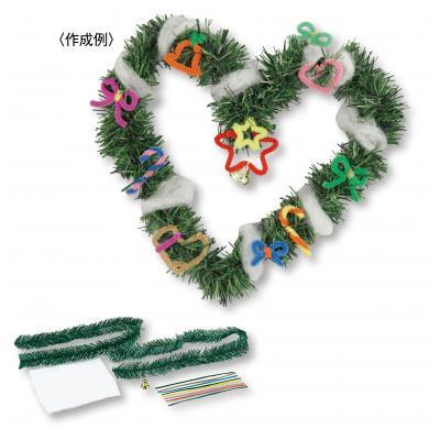 クリスマスリース作りキット 60個セット @279/個 ◆イベント・ギフト・景品・贈答品・粗品・ノベルティ・名入れ・のし包装は激安卸の当店へ