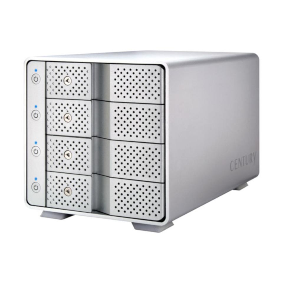 【センチュリー製品】 CENTURY(センチュリー) 裸族のカプセルホテル USB3.1 (CRCH35U31CIS)