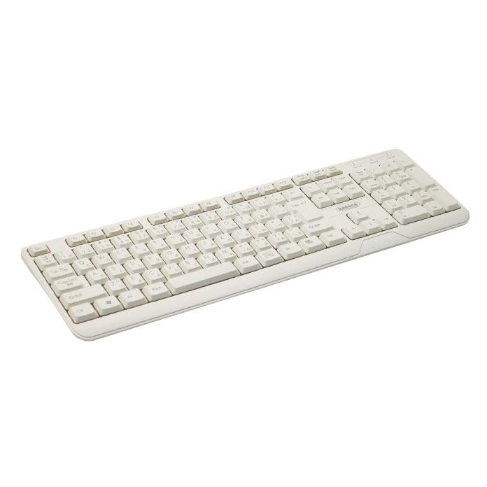 【キーボード】 3R SYSTEMS(スリー・アールシステム) USB接続 キーボード ホワイト (3R-KCKB04UWT) 【RCP】