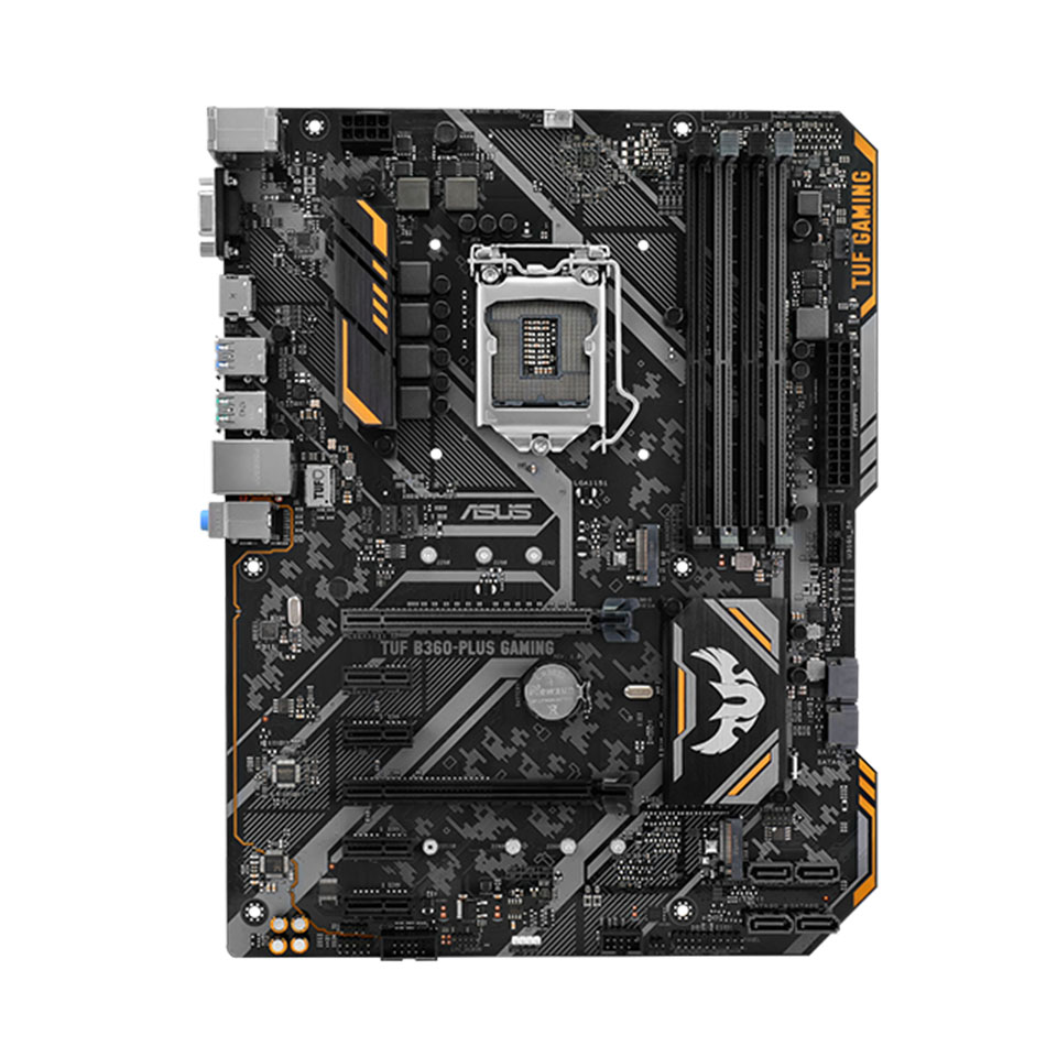 【マザーボード】ASUS TUF B360-PLUS GAMING B360搭載LGA1151 ATX マザーボード (ASUS TUF B360-PLUS GAMING) 【RCP】
