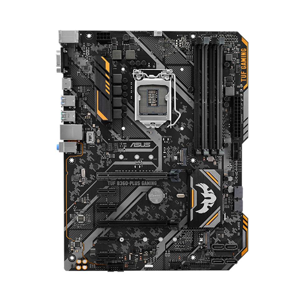 【マザーボード】ASUS TUF B360-PLUS GAMING B360搭載LGA1151 ATX マザーボード (ASUS TUF B360-PLUS GAMING)