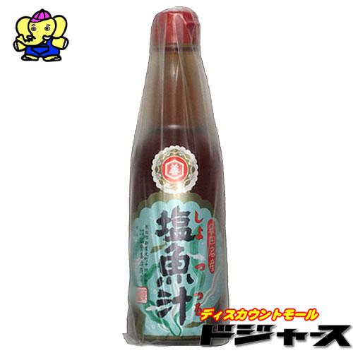 秋田の名産品 人気ブランド なべ以外にもおにぎりになど色々な料理に使えます 塩魚汁 しょっつる 碵のひとつ 日本三大魚 360ml 爆売り