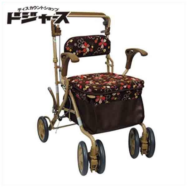 【島製作所】ボックスカー【ビート】(カラー:和柄ブラウン) 手押し車