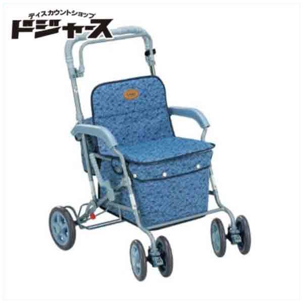 【島製作所】ボックスカー【マーチA】(カラー:ブルー) 手押し車