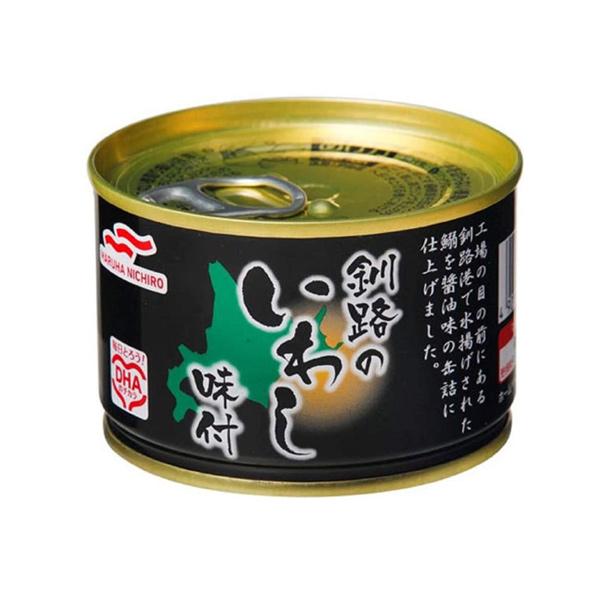 毎日とろう DHAのチカラ マルハニチロ 釧路のいわし味付 市販 150g 缶詰 アウトレットセール 特集 管理番号022102
