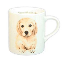 ご自分用でも もちろん 箱付きですので 新作からSALEアイテム等お得な商品 満載 信頼 わんこ好きなあの人にプレゼント わんコレ ゴールデン犬雑貨 犬グッズ S17 マグカップ