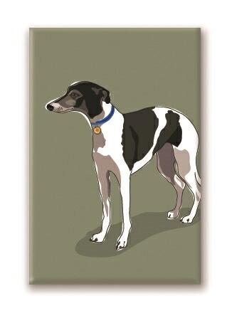 格安激安 カラフル可愛いマグネット メール便OK マグネットシリーズ ウィペット 犬雑貨 推奨 犬グッズ 輸入雑貨