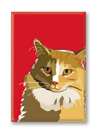 カラフル可愛いマグネット メール便OK マグネットシリーズ Cat ねこグッズ 供え 輸入雑貨 国内即発送 猫雑貨 Farm
