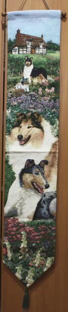 ついに再販開始 アメリカのブリーダーさんがお送りする自信作 店 ゴブラン織り ベルプルコリー輸入雑貨 犬グッズ 犬雑貨