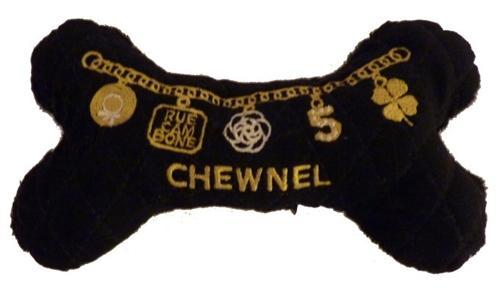 税別7000円以上で送料無料 LAセレブに人気 プレゼントにもおすすめ Dog Diggin Designs Chewnel 宅配便送料無料 犬用インポートTOY 春の新作シューズ満載 チュウネルボーン Black Little Dressy Bone