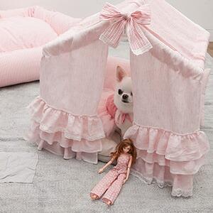 【LOUIS DOG(ルイドッグ/ルイスドッグ)】Peekaboo/Tropea/Grand(ピーカブートローピア/グランドサイズ)louisdog 小型犬用組立ハウス【送料無料】