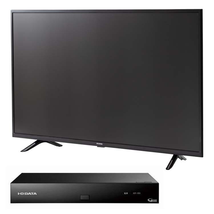 テレビ 43型 4K 4Kテレビ 液晶テレビ 43インチ ブラック 43UB10P + 4Kチューナー HVT-4KBC送料無料 4K対応 地デジ BS CS テレビ 液晶テレビ アイリスオーヤマ
