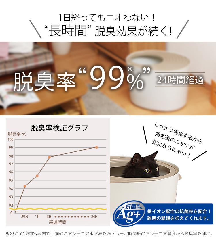 【3袋セット】上から猫トイレ用砂 猫砂 ネコ砂 猫 7L UNS-7L アイリスオーヤマ