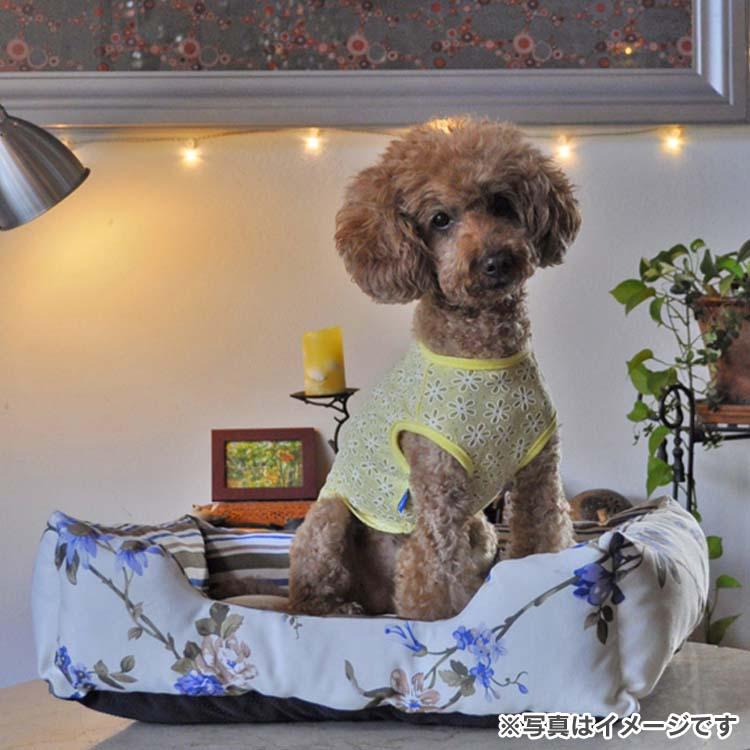 ペットベット CC110 スクエアカドラーフラワー M 犬用 ドッグ用 ワンちゃん用 クッション ソファー 柄 リラックス ハヤブサ ブルー ピンク【TC】【B】