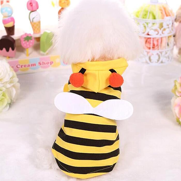 キュートに決まるコスチュームでハチさんに大変身 ミツバチ 蜜蜂 蜂 値引き ハチ はち 春 夏 ハロウィン 仮装 ドッグウェア トイプードル 送料無料 犬 チワワ 犬服 国内正規総代理店アイテム 猫 服メール便 ダックス
