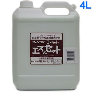 昭和化学 コペット 薬用S&Zシャンプー 4L 業務用サイズ