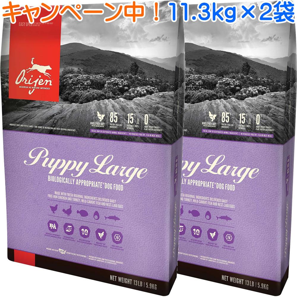 オリジンパピーラージ 11.3kg×2袋 【ランクアップキャンペーン特別価格!(4/26まで)】