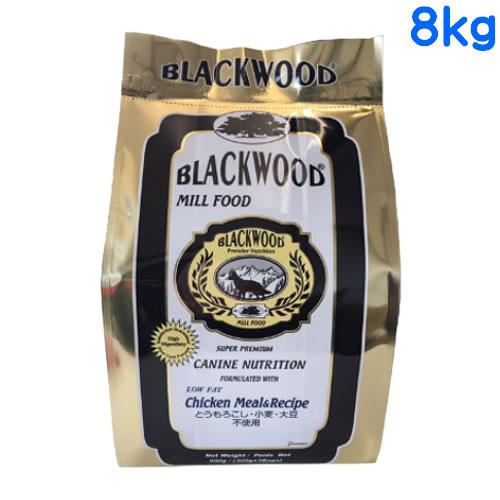 ブラックウッド ミルフードローファット 8kg (2kg×4個) 【BLACKWOOD MILL LOWFAT / ロウファット/おまけ付き】