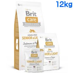 Britケア グレインフリー サーモン&ポテト シニア&ライト 12kg 【 BritCare / ブリットケア 】