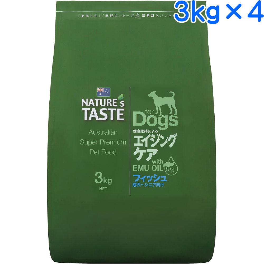 ネイチャーズテイスト エイジングケア フィッシュ 12kg(3kg×4)