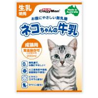3 980円で送料無料 沖縄県は9 800円以上で送料無料 ハイクオリティ 正規品 ネコちゃんの牛乳 成猫用 200ml 安全