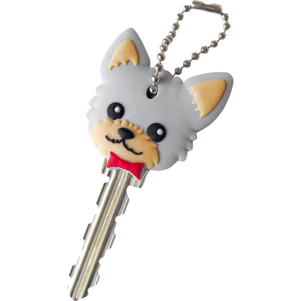 ワールド商事 ペットキーカバー 犬 ダックスフンド レッド 【メール便配送可能】
